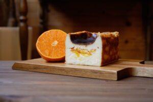 やくしま果鈴blogバスクチーズケーキ たんかん